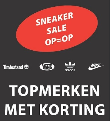Sneaker Sale Purmerend logo DenMa